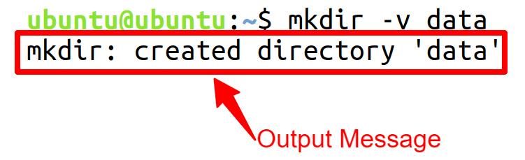 Output Message