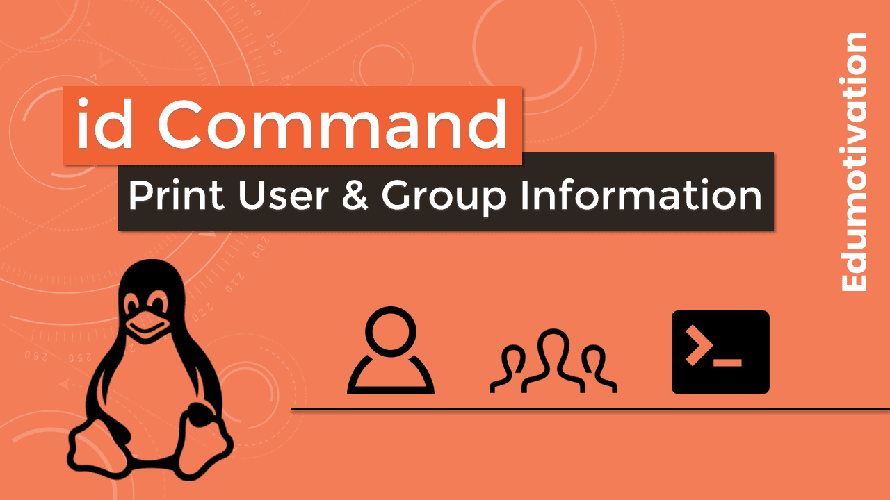 id command in linux
