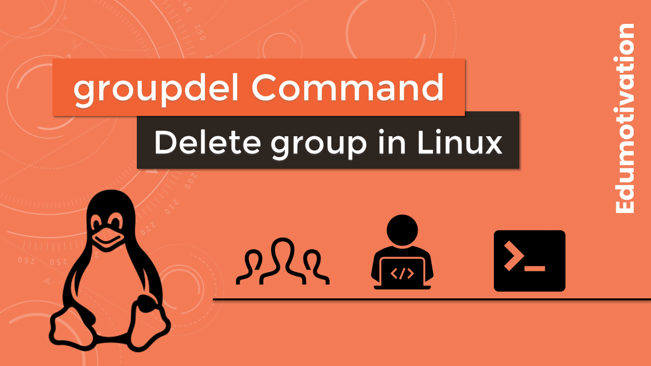 groupdel Command in Linux