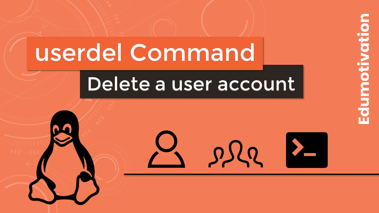 userdel Command in Linux